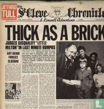 Thick as a brick (newspaper sleeve)