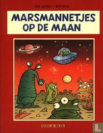 Marsmannetjes op de maan