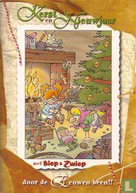 Kerst en Nieuwjaar met Biep & Zwiep door de eeuwen heen!!