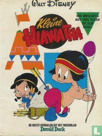 Een indiaantje met veel pijlen op zijn boog!
