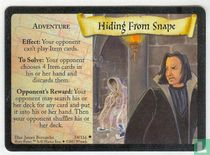 Hiding From Snape