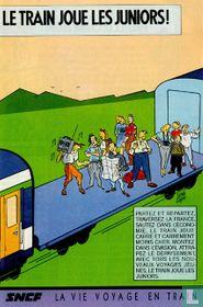 Le train joue les juniors