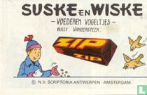 Suske en Wiske voederen vogeltjes / Lambique veut la paix