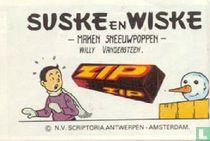 Suske en Wiske maken sneeuwpoppen / Etranges epouvantails