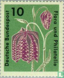 Postzegeltentoonstelling Flora en filatelie
