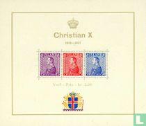 Government anniversary King Christian X.
