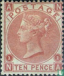 Koningin Victoria- Watermerk roos