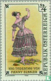 Fanny Elssler, 100e sterfdag