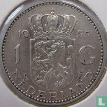 Nederland 1 gulden 1955 (grotere 2e 5 in jaartal)