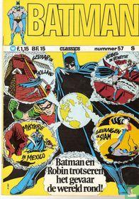 Batman en Robin trotseren het gevaar de wereld rond!