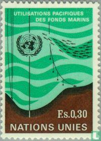 Vreedzaam gebruik zee