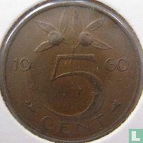Nederland 5 cent 1960