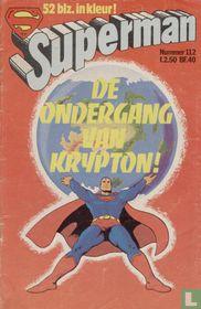 De ondergang van Krypton!