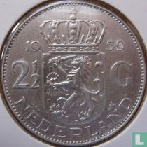 Nederland 2½ gulden 1959