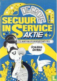 De grote secuur in service aktie