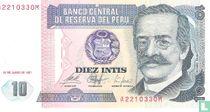 Peru 10 Intis