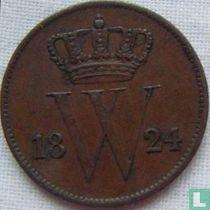 Netherlands 1 cent 1824