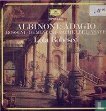 Rossini; Albinoni: Ysaye; Geminiani; Pachelbel