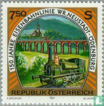 Spoorweg Wiener Neustadt-Odenburg 150 jaar