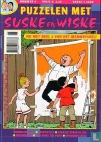 Puzzelen met Suske en Wiske