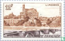 Limoges- Cathedral and bridge