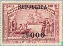Ontdekking zeeweg- REPUBLICA opdruk