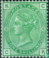 Koningin Victoria- Gekleurde hoekletters