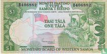 West-Samoa 1 Tala ND (1980)