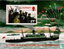 Terugkeer naar Alderney
