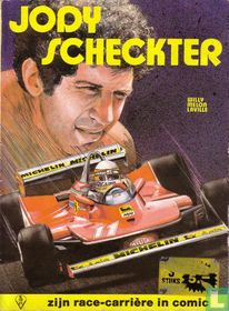 Zijn race-carrière in comic