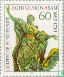 Egid Quirin Asam, 300 years old