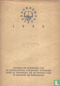 Rondom het boek 1935