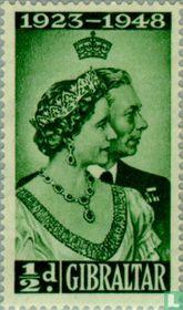 Koninklijke zilveren huwelijksverjaardag