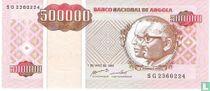 Angola 500.000 Kwanzas Reajustados 1995