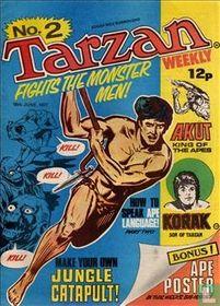 Tarzan fights the Monstermen