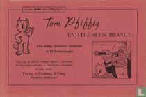 Tom Pfiffig und die Seeschlange [roodgekleurde cover]