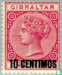 Spaanse waarde- opdruk