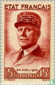 Maarschalk Pétain 87 years