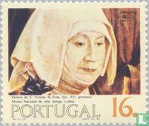 Portugees-Braziliaanse postzegeltent. LUBRAPEX
