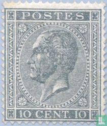 König Leopold I. im Profil