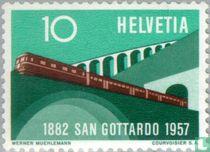Gotthard baan 75 jaar