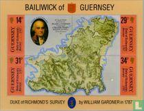 Landkaart Guernsey 200 jaar kopen