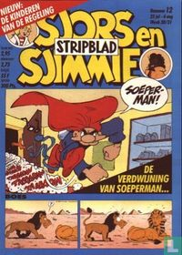 Sjors en Sjimmie stripblad  12