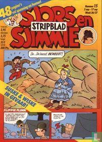 Sjors en Sjimmie Stripblad 15