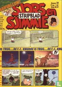 Sjors en Sjimmie stripblad 16