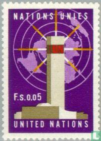 Symbolen U.N.O.