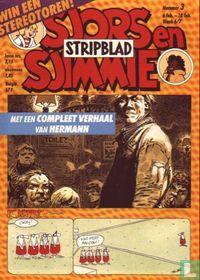 Sjors en Sjimmie stripblad 3