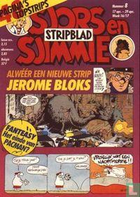 Sjors en Sjimmie stripblad 8