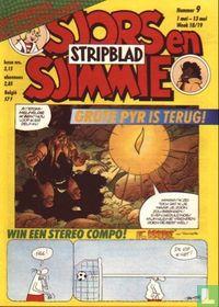 Sjors en Sjimmie stripblad 9