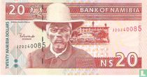 Namibia 20 Namibia Dollars ND (2002)